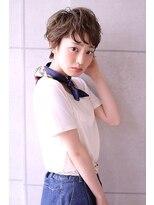 【Blanc】スウィングパーマ×イルミナカラー×ベリーショート