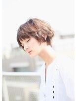 レンジシアオヤマ(RENJISHI AOYAMA)大人かわいいひし形シルエットショート 【池田 涼平】