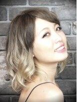 ヘアーラボ アッシュ(Hair Labo ASH)ASH~プラチナカラー+グラデーション~