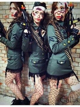 ギャリス 心斎橋本店ヘアメイク専門(Gallis) 【Gallis】ハロウィンに♪編み込みヘア