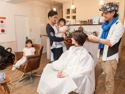 ヘアメイク オッヂ(HAIR MAKE Oggi)の写真