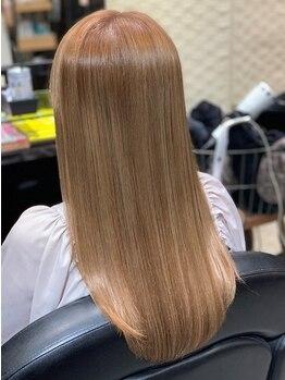 ルーチェ ヘアーデザイン(Luce Hair design)の写真/池袋で髪質改善★Luceで頭皮や髪の状態に合わせて髪の不純物を除去!!《M3Dトリートメント》も大人気♪