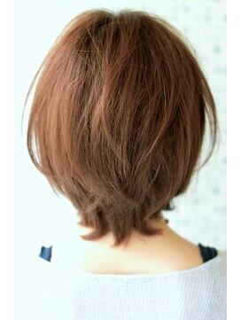 デラ 銀座 中央通り店(DERA'S)HAIR DERA'S 大人×可愛い 前下がりショートボブ♪♪