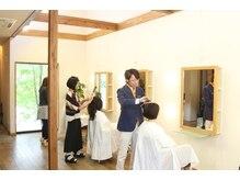 ビアンカ 髪にやさしい美容室(bianca)の雰囲気(吹き抜けが心地よくゆったりくつろげる♪【加茂野/美濃加茂】)