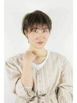 スクエアウーノ(HAIR MAKE SQUARE*uno HAKATA)抜け感ショート