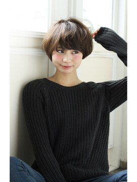 アンアミ オモテサンドウ(Un ami omotesando)【Un ami】《増永剛大》大人マッシュボブ☆ミルクティーカラー