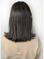 ソース ヘア アトリエ(Source hair atelier)【SOURCE】外ハネダークアッシュ