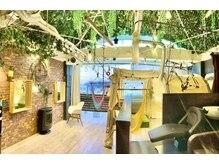 カシータ(casita)の雰囲気(ハンモックやテントがある森の中にいるような開放的な空間♪)