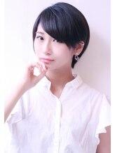 シャカ(SHAKA)丸みショート 黒髪ベリーショート センシュアルショート