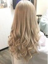 ヘアーグランデシーク(Hair Grande Seeek)外国人風ホワイティーcolor♪