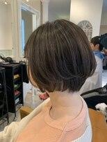 ヘアーサロン リアン 熊谷2号店(hair salon Rien)ショート×オリーブグレージュ