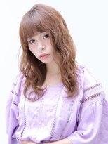 バッテリー ヘアアンドメイク 塚口店(Battery hair&make)ふんわりエアリーミディアム