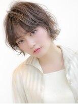 《Agu hair》ミニボブ×くびれシルエット