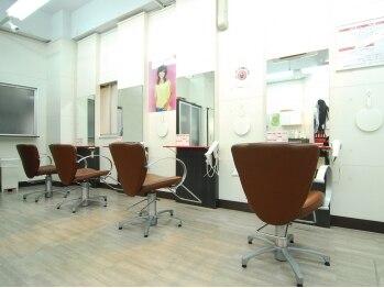 ヘアー リッジ 江古田店(hair Ridge)の写真/全メニュー≪ロング料金がなんと0円!≫髪にもお財布にもとっても優しいから気軽に通えちゃう♪