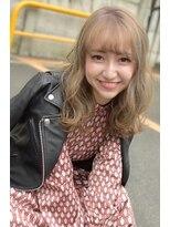 ヘアーサロン エール 原宿(hair salon ailes)(ailes原宿)style439 ミルキーベージュ