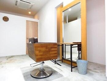 カミゴコチ(KAMIGOKOCHI)の写真/【キッズスペースあり】サロンを独り占めできる個室空間…。心地良い髪・心地良い空間・癒しの時間を―。