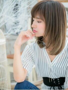 モッズヘア 上尾西口店(mod's hair)ヌーディストレートで透明感☆b