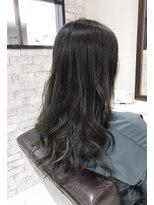 ルルカ ヘアサロン(LuLuca Hair Salon)LuLucaお客様☆スナップ オリーブグラデーション