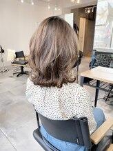 美容室 ツリー(Tree)ノンブローでおさまる大人スタイル『Tree hairsalon 』本厚木
