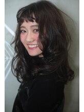 ユーアールキャッスル(UR CASTLE)ゆるふわロング モテ髪 アレンジ ショートバング UR jun