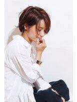 【morio池袋】人気の髪型 大人かわいい小顔ショートレイヤーボブ