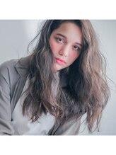 ヘア デザイン ヴェルダ(hair design Verda)【VERDA】グレーブラウン × ブルージュ
