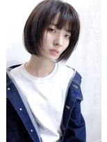 ヘア デザイン エシレ(Hair design esille.)ミニボブ