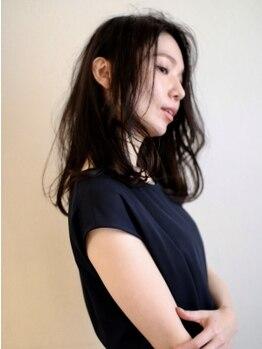 ケイトブラウン(KATE BROWNE)の写真/独自のダメージ軽減率75%+毛髪強度140%upのTOKIO trで究極のヘアケアを。#肌に優しい#ダメージケアに特化