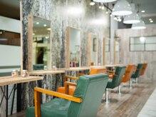 アグ ヘアー ネージュ 新札幌 札幌10号店(Agu hair neige)の雰囲気(こだわり抜かれた空間。ゆったり寛げる。)