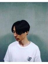 ヘアーメイク ニコ(hair make Nico)真ん中分け