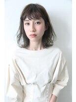 バコ(Baco.)レイヤーロブ × ブルーグレージュ 【Baco.】