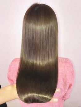 トータルビューティーパッションミュージアム(Total Beauty Passion museum)の写真/【本格髪質改善で潤う美髪に★】厳選した薬剤を使用するから通えば髪がグングン綺麗になると噂の美髪サロン
