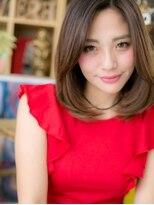 ■EVE戸頭8-3★■クリアカラーの大人かわいい小顔ミディ