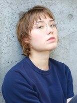 ヘアーアンドレイ エビス(hair.andrey EBISU)【andrey Ebisu】マッシュウルフショート[junya]