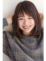 【GARDEN】モード×3Dカラージグザグバングミニマムボブ田塚裕志