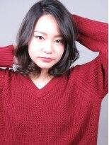 ヘアメイクエシェル 小松店(Hair Make e‐shell)大人な雰囲気なゆるふわボブスタイル☆