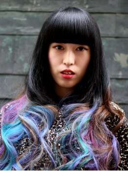 レイブ アクション アンド ヘアー 北千住店(rave Action and Hair)の写真/諦めてたカラー、スタイルも完璧に再現してくれる♪とことんこだわってあなただけのBESTスタイルを叶えて☆