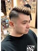 オムヘアーフォー(HOMME HAIR 4)サイドパートスタイル【HOMME HAIR4 KENSHiRO】