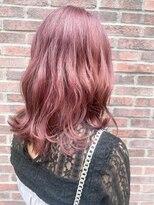 ネオヘアー 曳舟店(NEO Hair)ピンクカラー