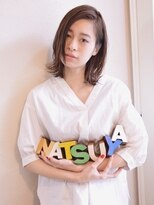 ナツヤ(NATSUYA)伸ばしかけナチュラルボブ