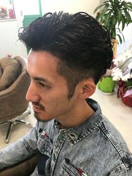 ヘア アトリエ チェスター(Hair Atelier Chester)の写真/【駐車場あり】技術はもちろん居心地の良さがメンズから人気★デザイン性の高いオリジナルstyleもおまかせ