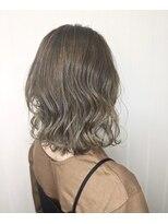 ソース ヘアアトリエ 梅田(Source hair atelier)【SOURCE】バニッシュグレージュ