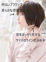 モッズヘア 上尾西口店(mod's hair)艶カラーくすみカラー耳かけ小顔前下がりボブ上尾20代30代40代!