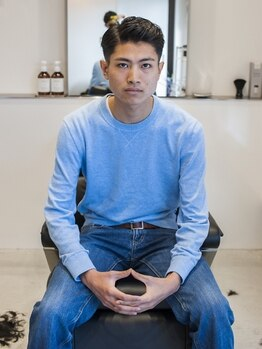 レギュラースタンス(Regular stance)の写真/西条◇寺家にできた理容院♪メンズサロンならではの技術力と清潔感 ◎大人かっこいいヘアを提供…♪