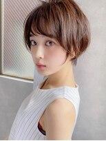 アグ ヘアー ドレス 喜久田店(Agu hair dress)《Agu hair》大人かわいいくびれショート ショートボブ