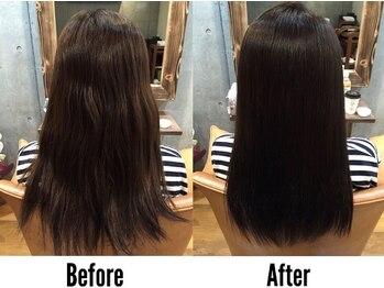 ツリーヘアサロン(Tree Hair Salon)の写真/[学芸大学2分]くせっ毛さんのお悩み解決♪一人ひとりの髪質、コンディションに合わせた薬剤選定◎