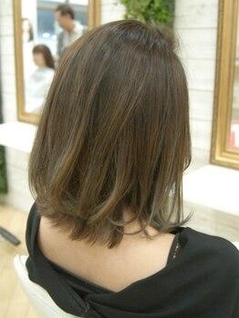 ハピネスヘアデザイン(Happiness)の写真/クリアな色味表現し透明感のあるトレンドカラーへ☆絶妙な色味&発色の似合わせ提案であなたらしさを表現♪