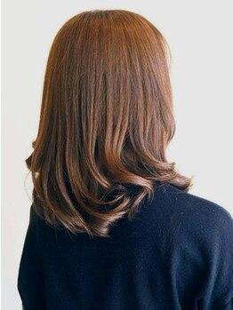 ミトノヘアーアンドイー(MITONO HAIR and E)の写真/艶やかでキレイな色味,トリートメント効果のある[ヴィラロドラ]導入店!柔らかな質感と潤いに満ちた仕上がり