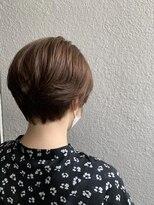 オリジンイズミ(ORIGIN'S IZUMI)[ORIGIN'SIZUMI]髪質改善ツヤカラーショート