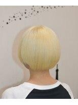 ヘアーサロン エール 原宿(hair salon ailes)(ailes 原宿)style357 ホワイト☆ストレート☆エアリーショート